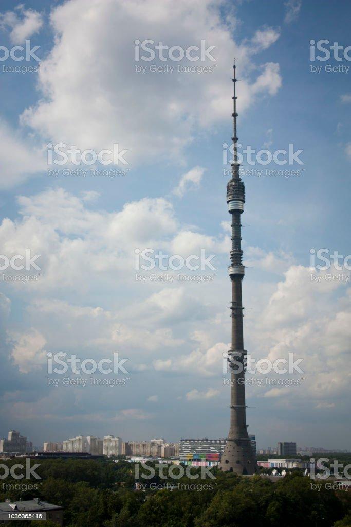 オスタンキノ・タワーのストック...