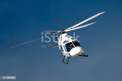 istock High-banking helicopter 157383904