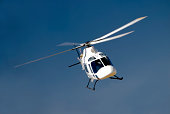 High-banking Agusta helicopter.More helicopters: