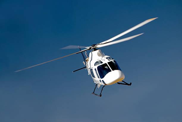 High-banking Hubschrauber – Foto
