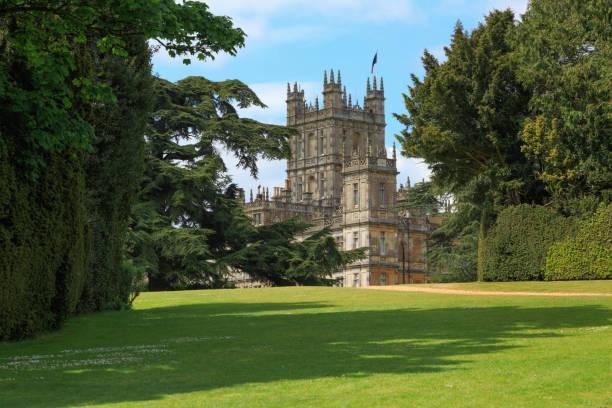 Highclere Castle, Hampshire, UK stock photo