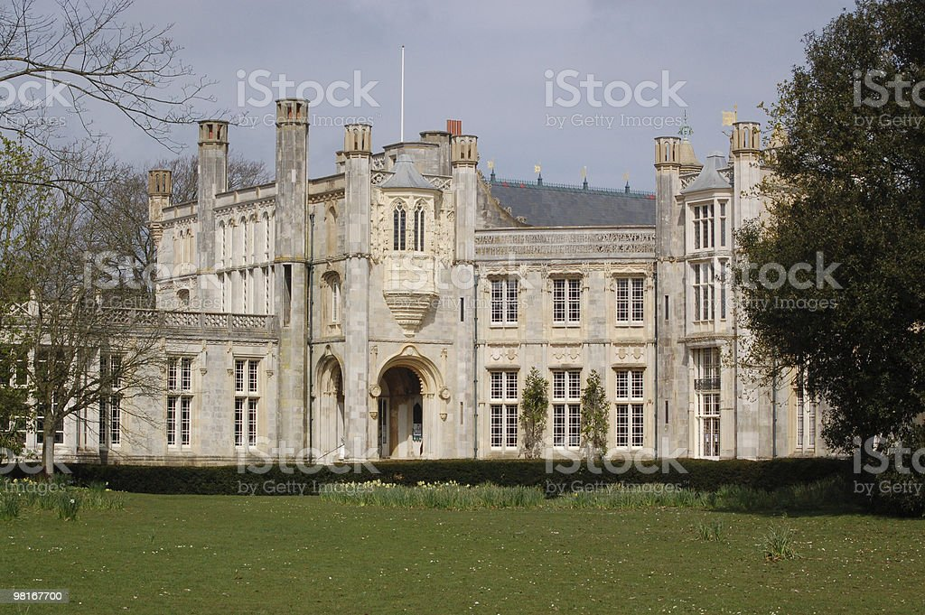 Highcliff Castle, Dorset royalty-free stock photo