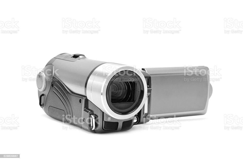 high-definition camera stock photo
