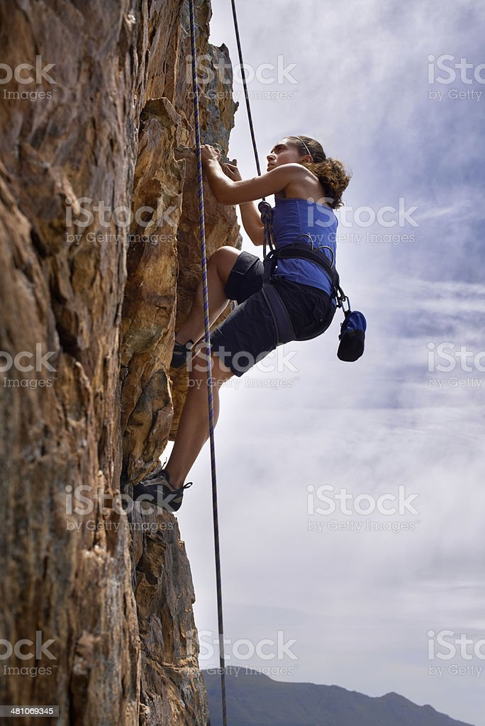Higher and higher... royalty-free stock photo