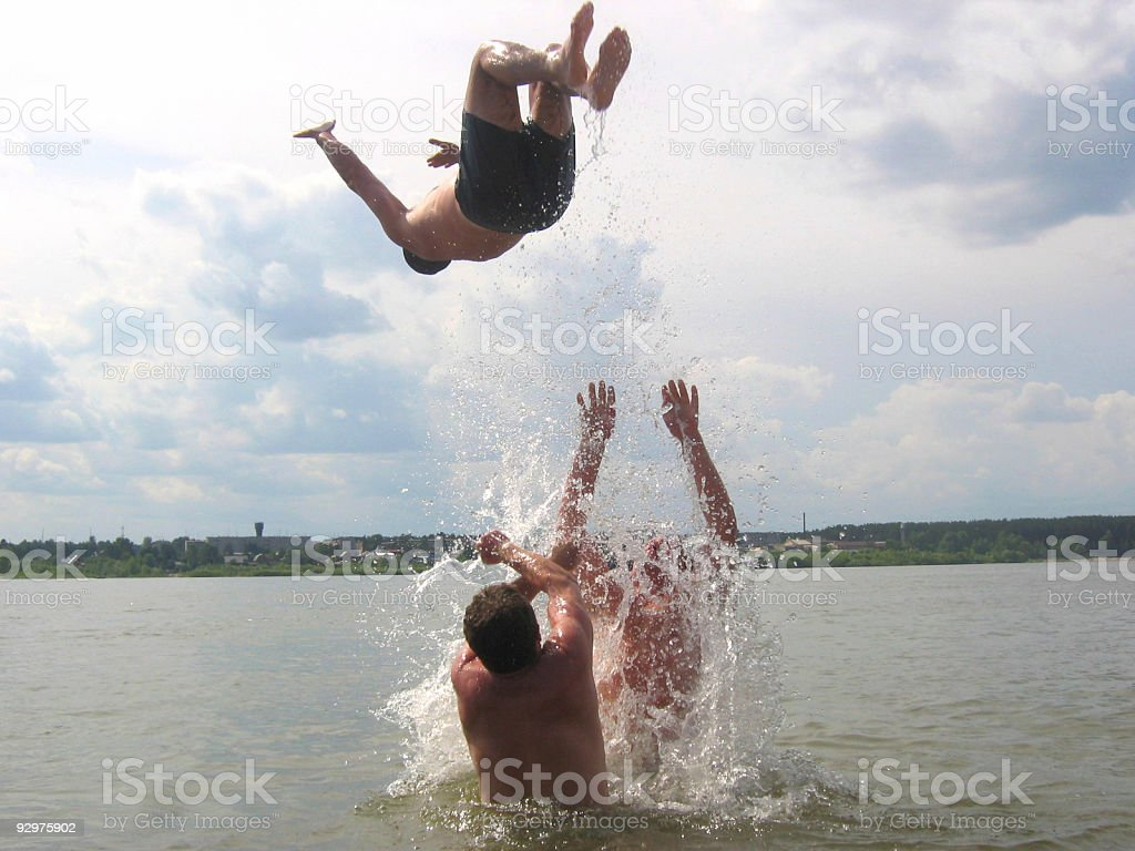 Higher fly royalty-free stock photo
