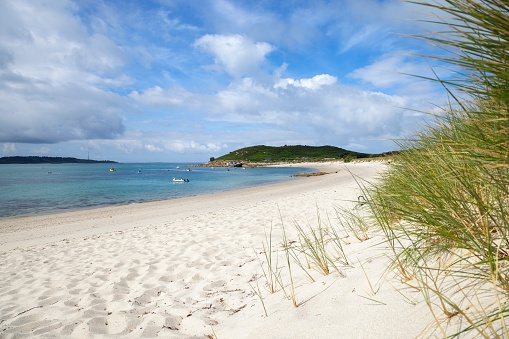 Higher Town Bay, St Martin's, Isles of Scilly, England