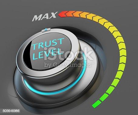istock Highest level of trust concept 505646986