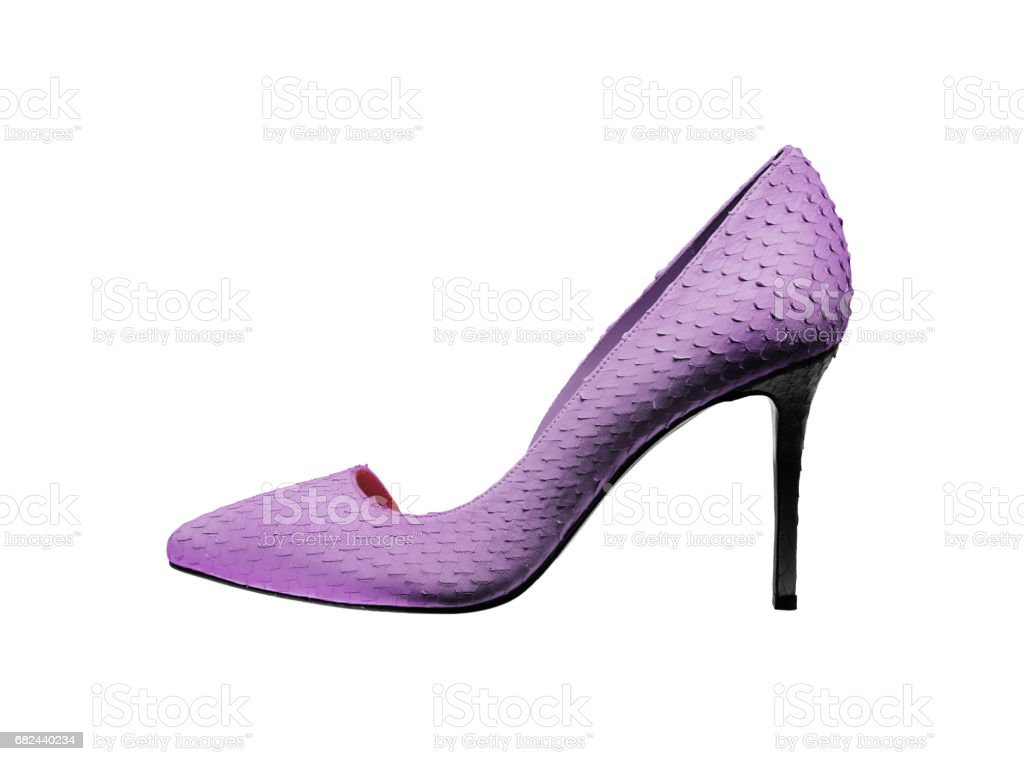 High-heeled shoe royalty-free stock photo