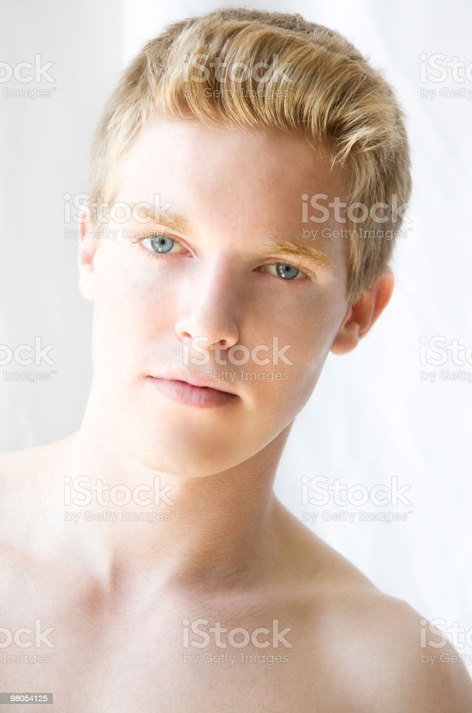 High-Key Image of Fitness Trainer royalty-free stock photo