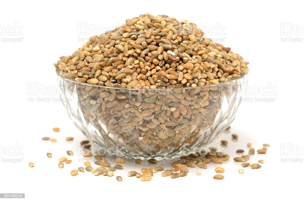 Highland barley is a variant of barley, mainly in Tibet, Lizenzfreies stock-foto