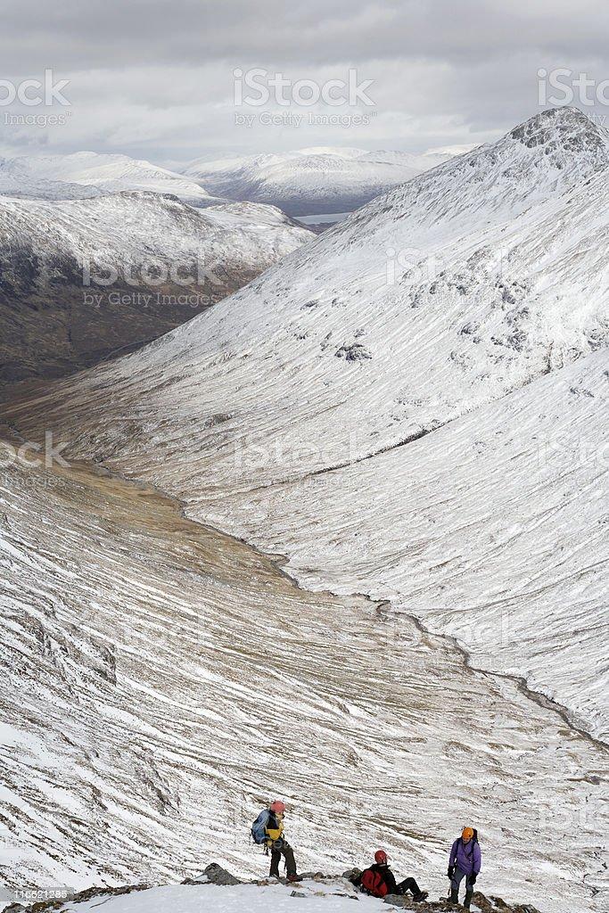Highland Glen royalty-free stock photo