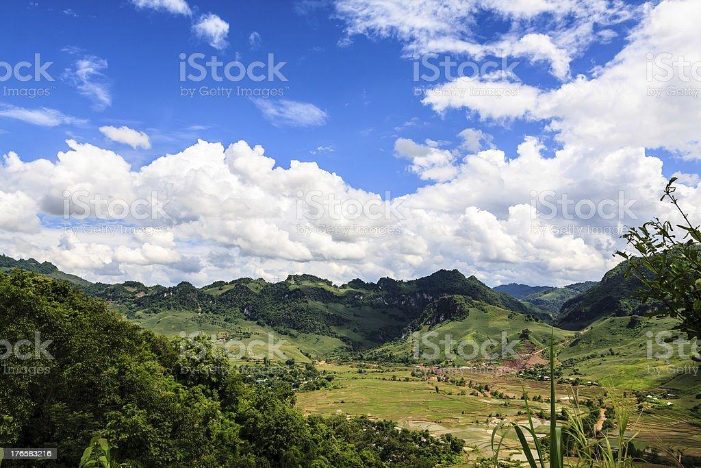 Highland landscape royalty-free stock photo