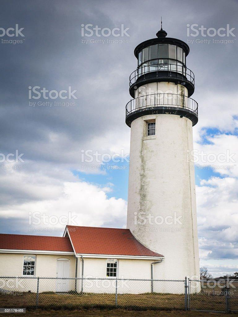 Highland Light Tower stock photo