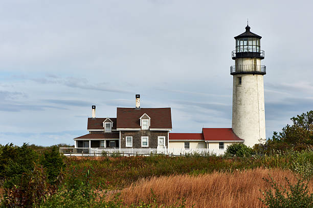 Highland Lighthouse at Cape Cod, built in 1797 – Foto