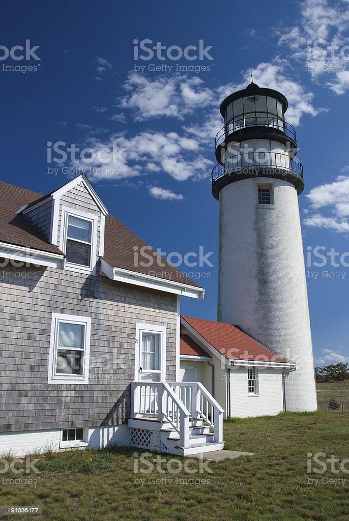 Highland Lighthouse royalty-free stock photo