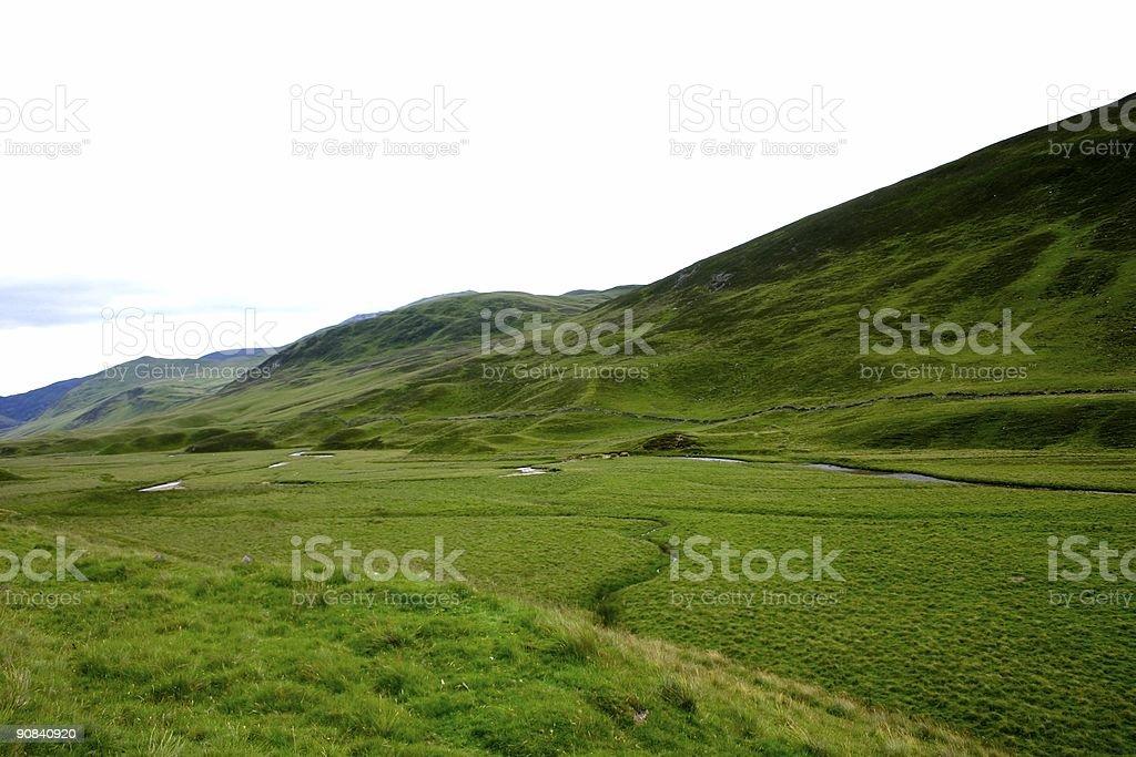 Highland of Scotland stock photo