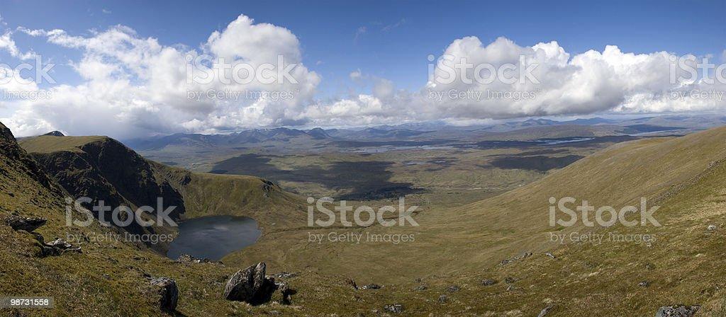 Highland Panorama-Beinn'» Chreachain foto de stock royalty-free