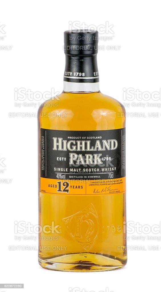 Highland Park Scotch Whisky stock photo