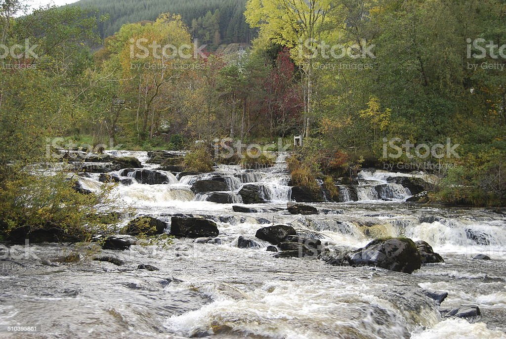 Highland River stock photo