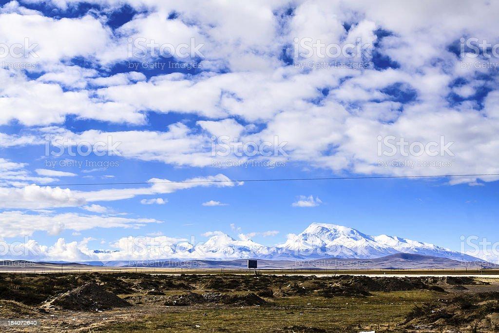 Highland Tibet stock photo