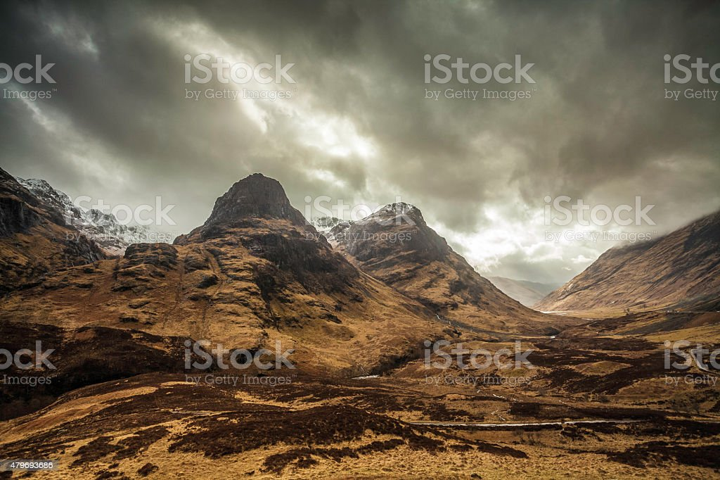 Highlander Mountains stock photo
