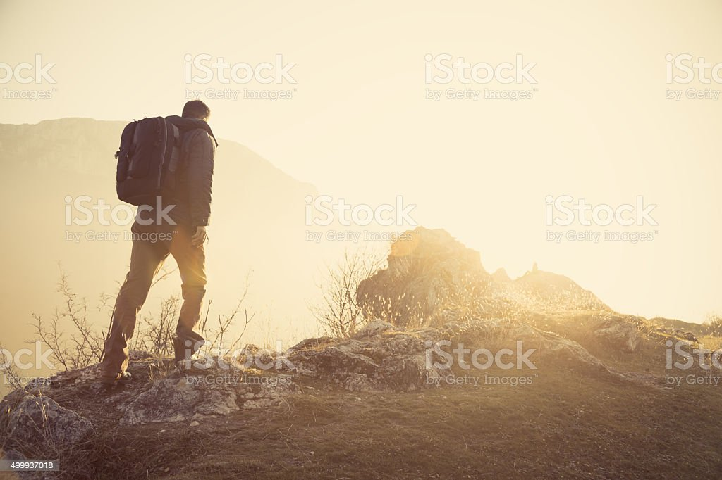 Highlander stock photo