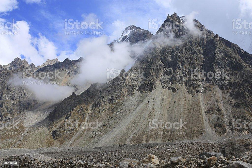 Highlands Caucasus royalty-free stock photo