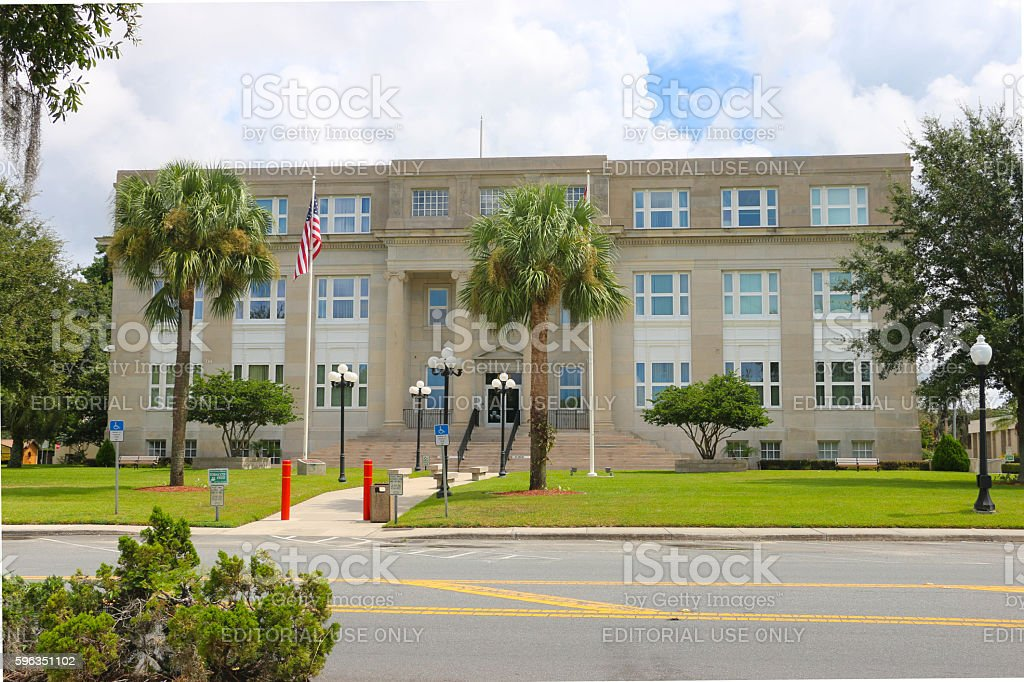 Highlands County Courthouse royalty-free stock photo