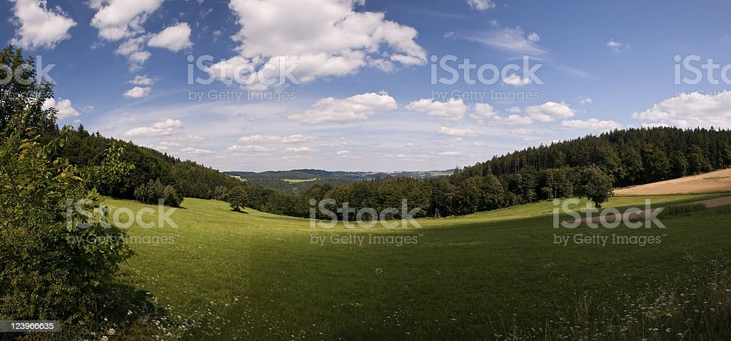 Highlands panorama royalty-free stock photo