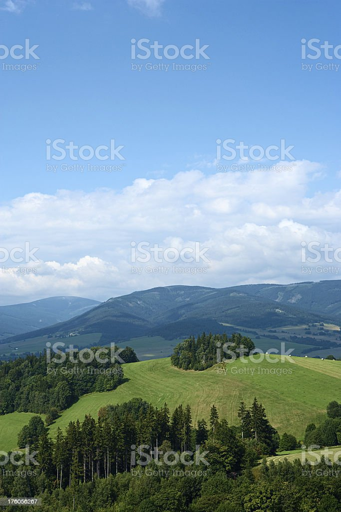 Highlands scenery royalty-free stock photo
