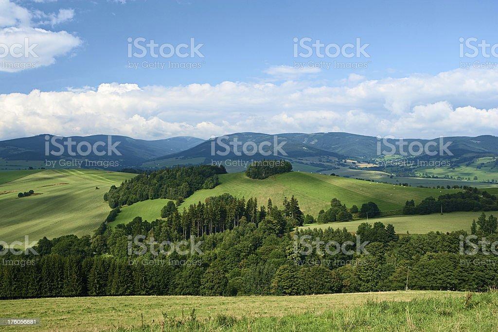 Highlands scenery royalty-free stock photo