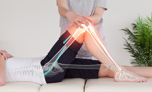 Osteopathy stock photos