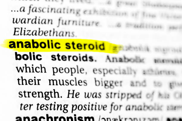 "Highlighted English word ""anabolic steroid"" and its definition in the dictionary Highlighted English word ""anabolic steroid"" and its definition in the dictionary. glossa stock pictures, royalty-free photos & images"