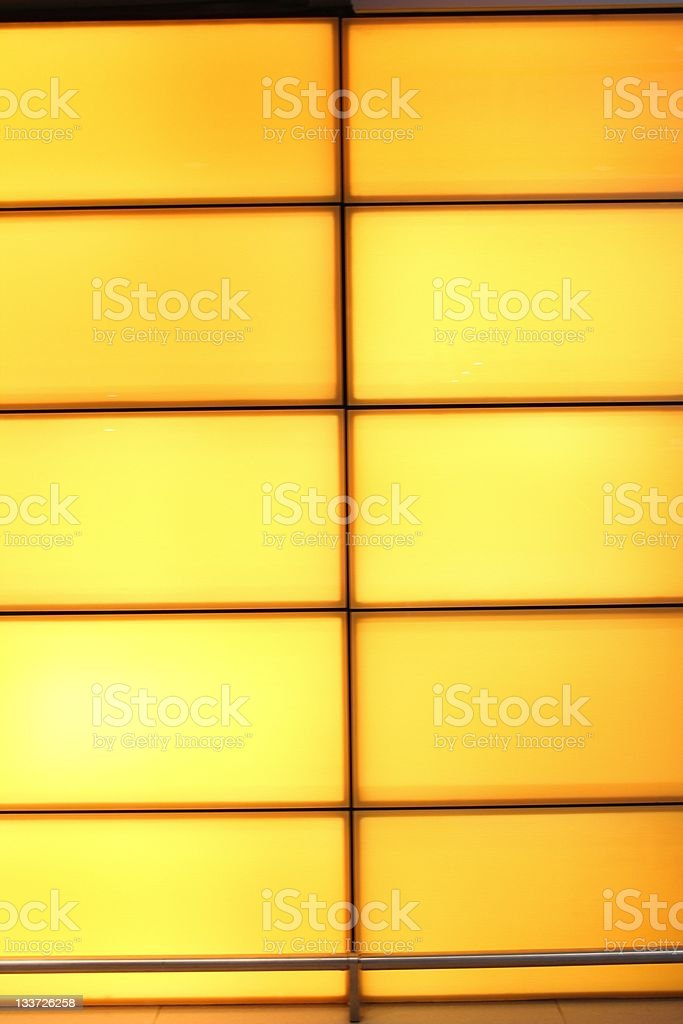 Highlighted panel stock photo