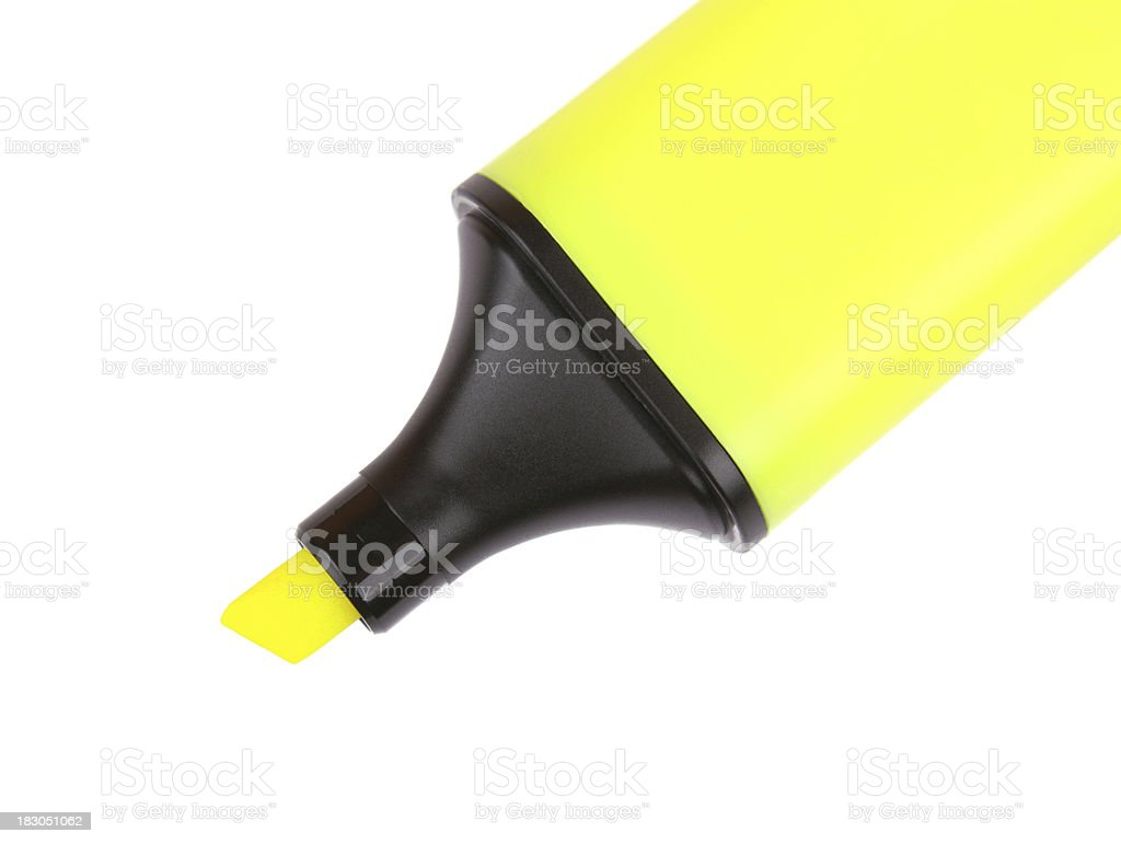 Highlighter royalty-free stock photo