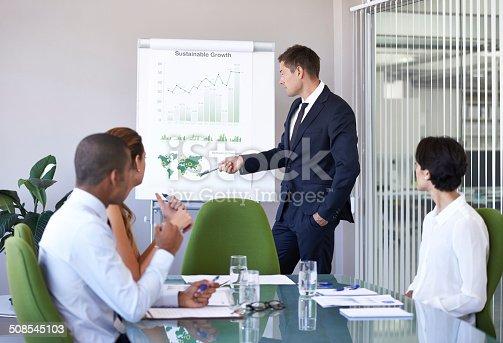 istock Highlighting their game plan 508545103