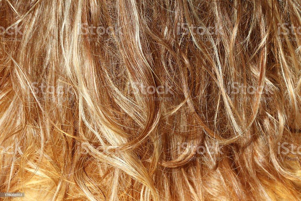 Highlights Blonde Haare Hintergrund Stockfoto Und Mehr