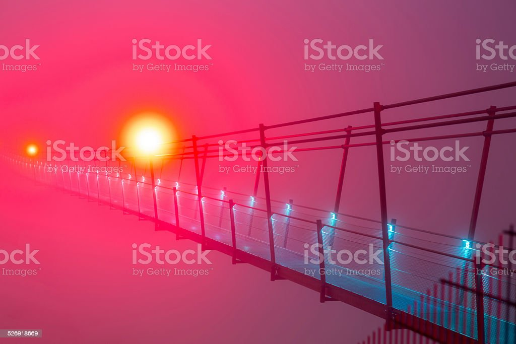 Highline 179 - World Record stock photo