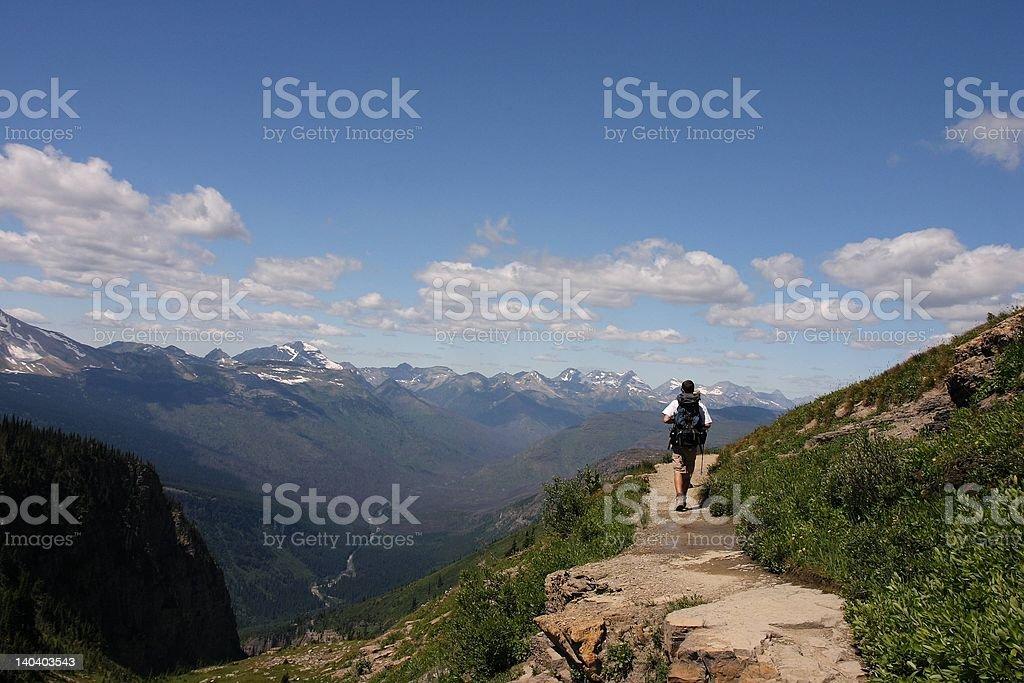 Highline Trail royalty-free stock photo