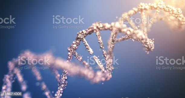 Highly Detailed Dna Stock Photo - Download Image Now