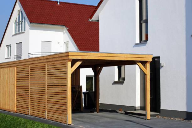 Qualitativ hochwertige Holz carport – Foto