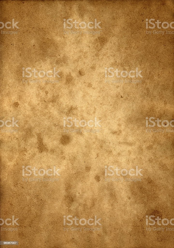 High-resolution Mottled Old Paper royalty-free stock photo