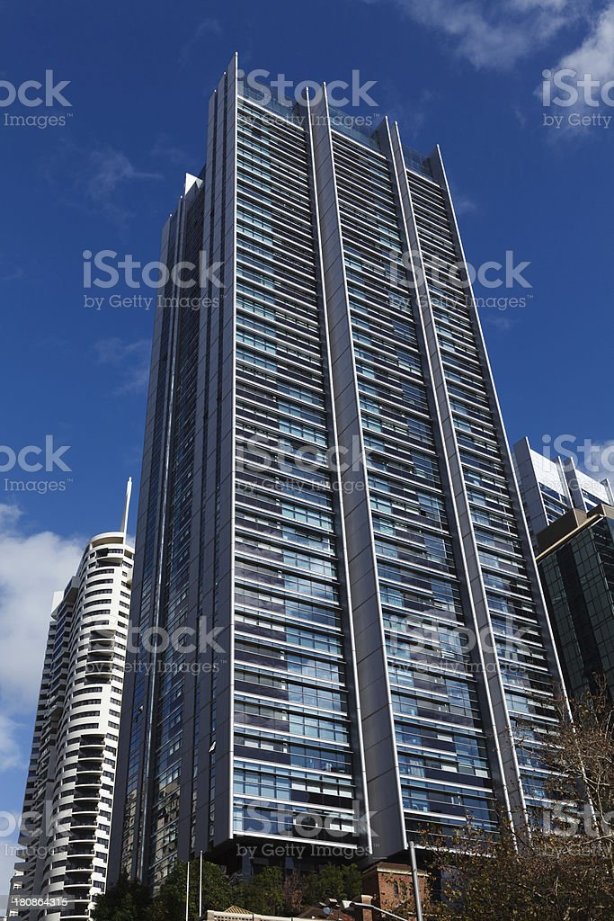 High-rise Apartments royalty-free stock photo