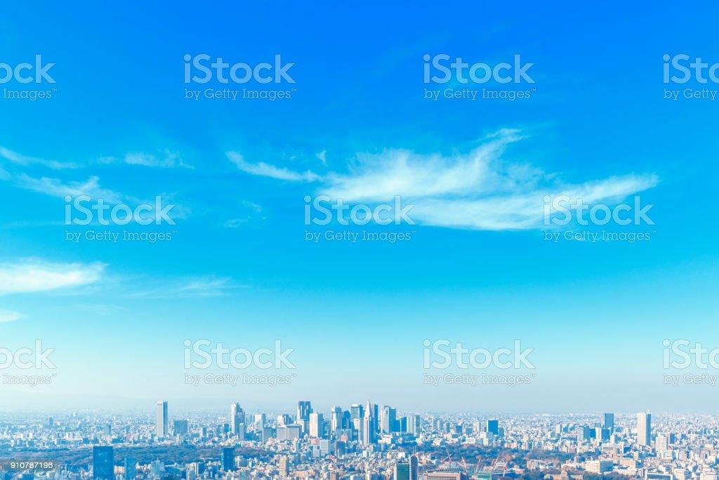 新宿の高層ビル群 ストックフォト