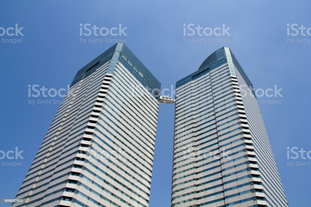 High-rise building, Harumi 3 chome, Tokyo stock photo