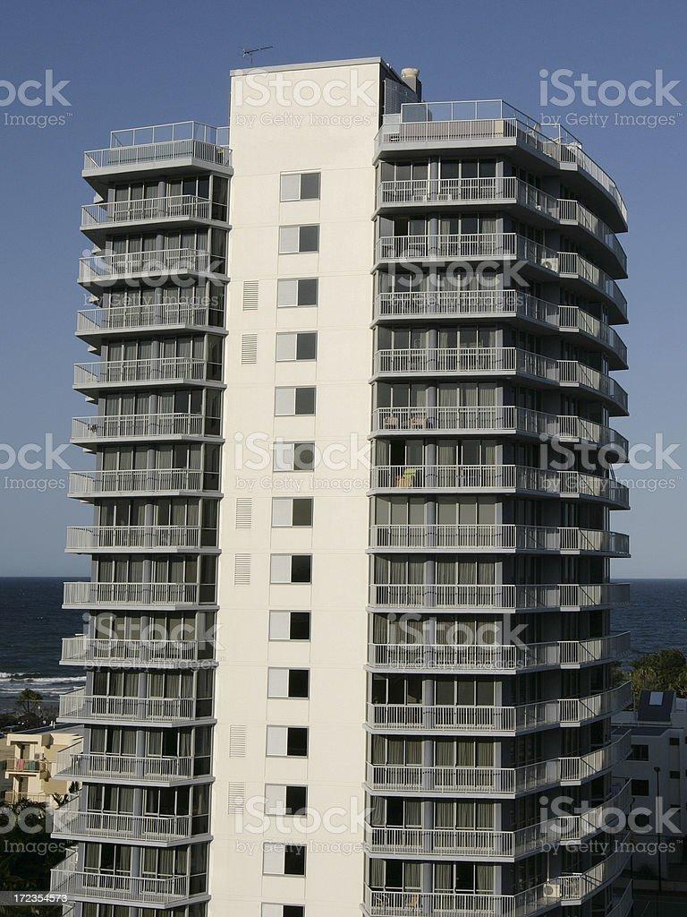 Alta del edificio foto de stock libre de derechos