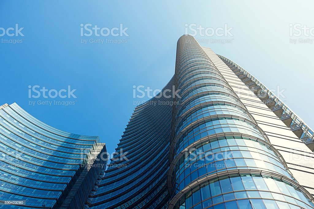 highrise building stock photo