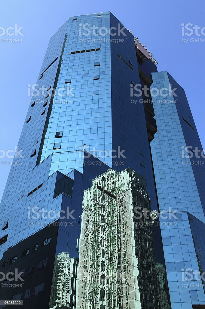 High-rise buildings royalty-free stock photo