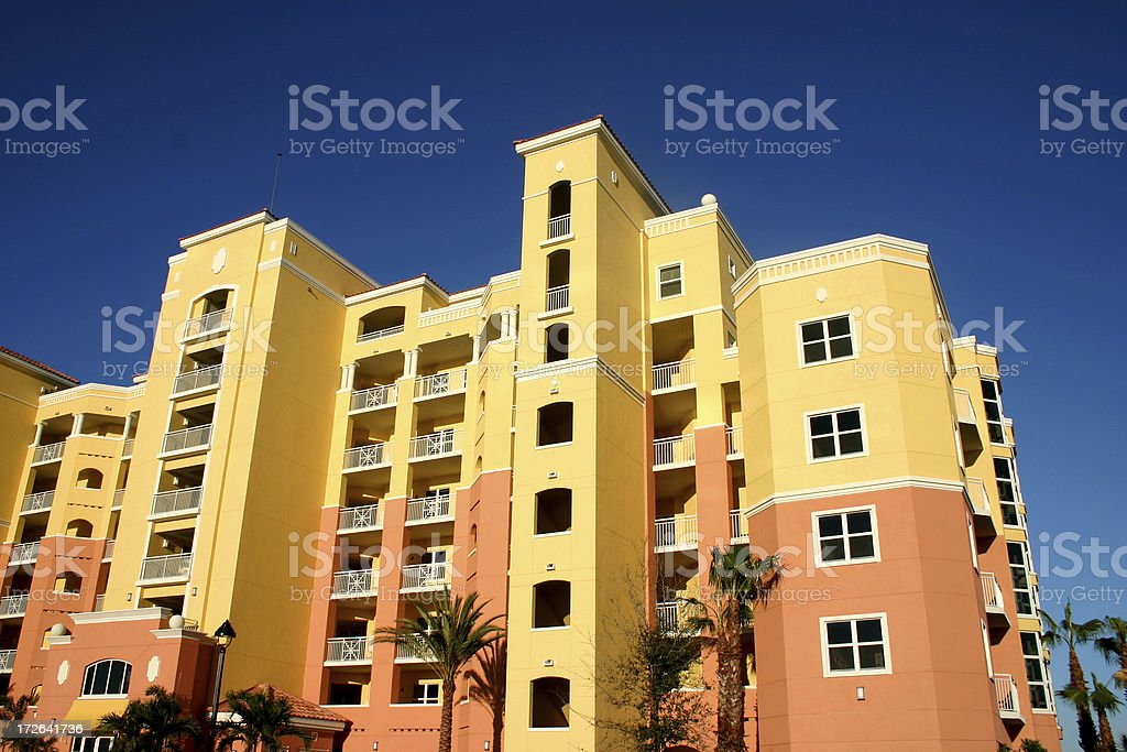 Highrise Condominiums stock photo