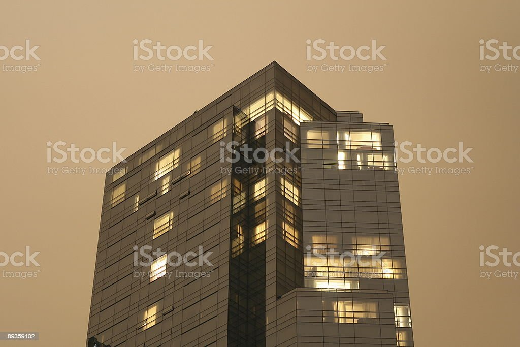 High-Rise Hotel royalty-free stock photo